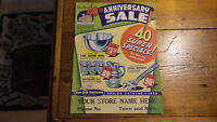 1953 OUR OWN HARDWARE Catalog, Spring Anniversary Sale Edition, Housewares, Tool