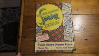 1950 OUR OWN HARDWARE Catalog, Spring Edition, Gardening, Tools, Cleaning, House