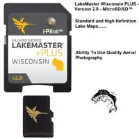 Humminbird LakeMaster Wisconsin PLUS With Aerial Images-Version 2.0-MicroSD/SD™
