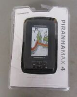Humminbird PiranhaMax 4 Fish Finder Dual Beam Sonar 600' Color Display 410150-1