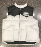 Vtg Swingster Barq's Root Beer Insulated Puffer Vest Large Coca-Cola Company