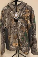 NWT Under Armor Storm x Real Tree Camo Stealth Fleece Men's Hunting Jacket