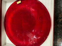 2002 Red Glass New Neiman Marcus Still in Box Annual Christmas Platter