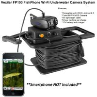 Vexilar FP100 FishPhone Wi-Fi Underwater Camera System: Record Video Or Stills