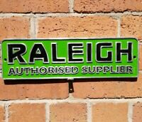 Raleigh Sign cast aluminium bike cycle Nottingham chopper VAC038