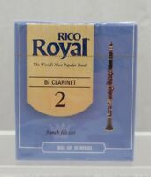 Strength 3.5 10-pack Rico Grand Concert Select Evolution Bb Clarinet Reeds