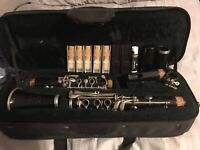 B Flat Clarinet 5 Brand New Size 3 Rico Reeds Two Reed Holders And Cork Grease
