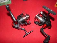 2-Quantum LT 00 Ultra Light Fishing Spinning Reel/excellent condition