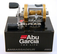 ABU GARCIA AMBASSADEUR 6500CS PRO ROCKET YELLOW RIGHT HAND REEL #1428020 SWEDEN