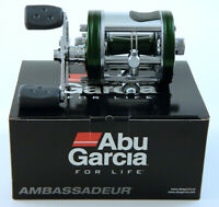 ABU GARCIA AMBASSADEUR 6500CS PRO ROCKET GREEN RIGHT HAND REEL #1428021 SWEDEN