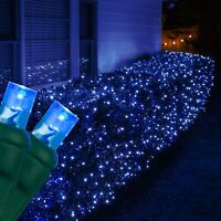 Blue Lights, All Types, String Net Icicle LED Lights Party Xmas Décor