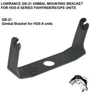 LOWRANCE GB-21 GIMBAL MOUNTING BRACKET FOR HDS-8 SERIES FISHFINDER/GPS UNITS