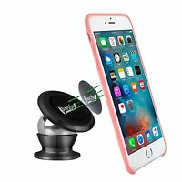 Universal 360° Metal iPhone Car Holder Magnetic Phone Mount for iPhone Samsung $13.49
