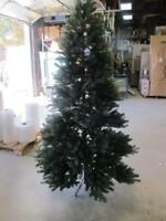 GENERAL ELECTRIC GE 7.5' JUST CUT COLORADO SPRUCE CHRISTMAS TREE WITHOUT LIGHTS
