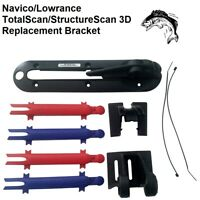 Navico/Lowrance TotalScan/StructureScan 3D Replacement Bracket Hardware Included