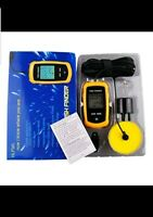 Portable Wired Fish Finder Small round transducer