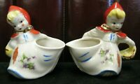 Hull Pottery Little Red Riding Hood Creamer & Sugar Bowl Set. SHIPS FREE !!