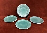 (4) Vintage STANGL Pottery Colonial Green 6