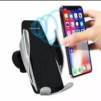 The Best IR Smart Automatic Clamping Car Wireless Charger For iPhone Samsung $20.00