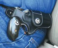 Bond Arms leather driving holster black w/ star RH Snake Slayer/Ranger II
