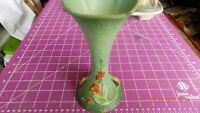 VINTAGE ROSEVILLE ART POTTERY BITTERSWEET 7 INCH VASE 879 7 GREAT CONDITION