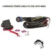 LOWRANCE MARINE NAVIGATION POWER CABLE PC-27BL WITH NMEA (30238)