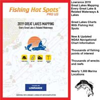Lowrance  2019 Great Lakes Mapping Every Great Lake & Related Waterways & Lakes