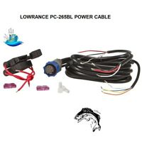 LOWRANCE PC-265BL POWER CABLE (25390)