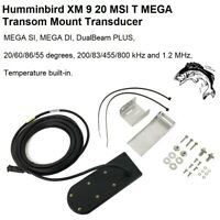 Humminbird XM 9 20 MSI T MEGA Transom Mount Transducer & Temperature Built-In