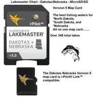 HumminbIrd Lakemaster Chart Version 5 Dakotas/Nebraska-MicroSD/SD: i-Pilot®