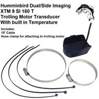 Humminbird Dual/Side Imaging XTM 9 SI 180 T Trolling Motor Transducer 15' Cable