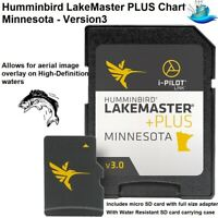 Humminbird LakeMaster PLUS Chart - New High-Definition Minnesota - Version3