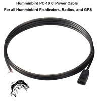 Humminbird PC-10 6' Power Cable For All Fishfinders, Radios, and GPS Equipment