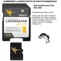 HUMMINBIRD LAKEMASTER PLUS DAKOTAS/NEBRASKA -MICROSD™+ Additional Fishing Waters