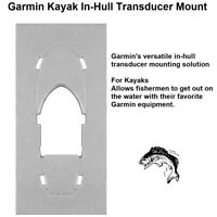 Garmin Kayak In-Hull Transducer Mount: No Tools Are Required For Installation