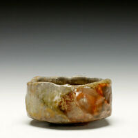 Chuck Hindes Studio Pottery, Chawan, Tea Bowl, Wood Fired Stoneware