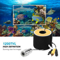 1200TVL Underwater Fishing Camera Night Vision Fish Shape Boat Ice Fishing L1R6