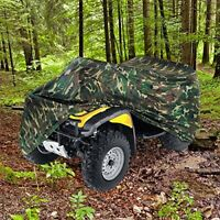HEAVY DUTY 420 DENIER CAMO COLOR WATERPROOF ATV COVER FITS UP TO 100