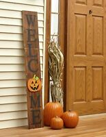 Interchangeable Welcome Sign for Fall, Halloween, Winter, Christmas, Spring
