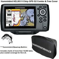 Humminbird HELIX® 5 Chirp G2 Fishfinder/GPS With Free Cover And Basemap Built-In