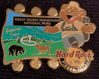 HARD ROCK CAFE PIGEON FORGE 2015 NATIONAL PARK BEAR SERIES PIN GREAT SMOKY MTS
