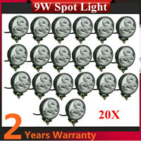 20X 9W LED Work Light Spot 660LM Vehicle Truck 4WD ATV Chevrolet GMC 18W/27W/48W