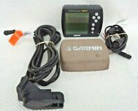 GARMIN FISHFINDER 240 FISH FINDER w/ PWR CABLE / SPEED & TEMPERATURE TRANSDUCER