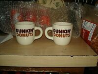 Vintage Rego Original DUNKIN' DONUTS Coffee Mugs - Cups
