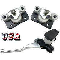 Brake Caliper & Brake Master Cylinder for Arctic Cat 250 300 400 500 With Pads