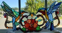 Tiffany Stained Glass Panel -