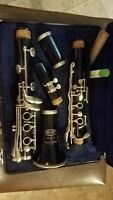 SELMER BUNDY CLARINET with case and mouthpiece. JUST PRO SERVICED Band ready!