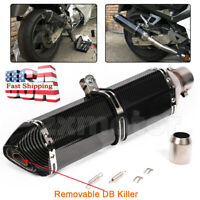 470mm 51mm Universal Exhaust Muffler Pipe Slip for Motorcycle ATV with DB killer