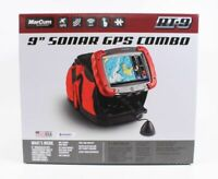 Marcum RT-9 Sonar GPS Combo includes Tablet, Ice Ducer and Performance Pack