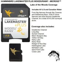 Humminbird LakeMaster Plus Woods/Rainy - Lake of the Woods HD Micro Map Card™